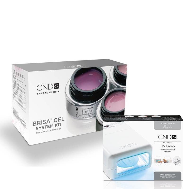 CND™ BRISA™ GEL SYSTEM KIT CND™ UV LAMP