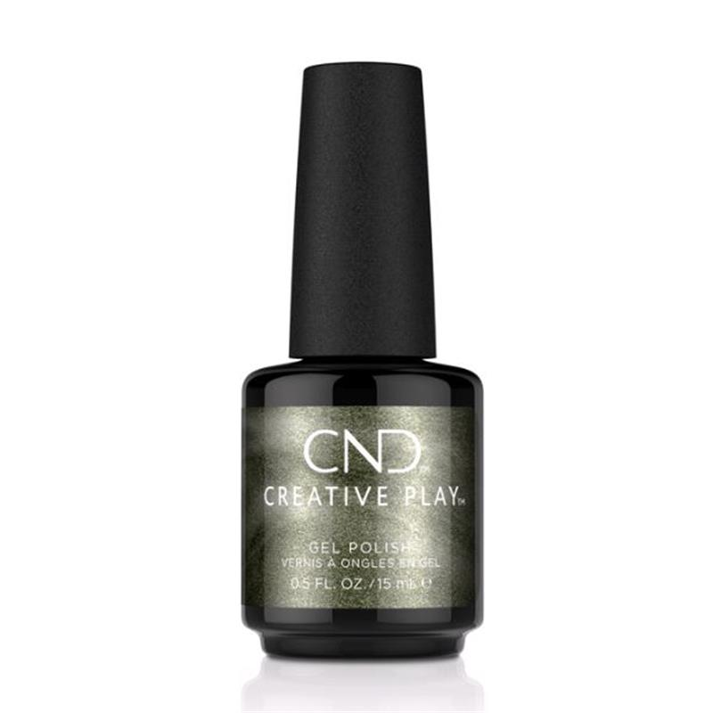 CND™ CREATIVE PLAY™ GEL POLISH OLIVE FOR THE MOMENT #433