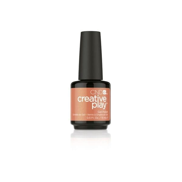 CND™ CREATIVE PLAY™ GEL POLISH ORANGE YOU CURIOUS #421