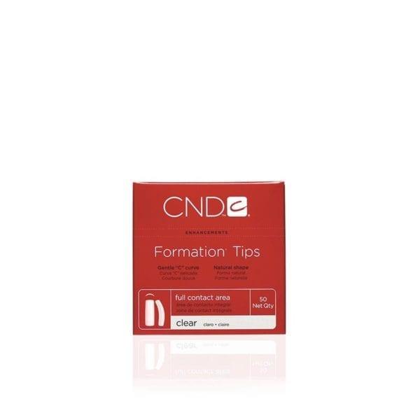 CND™ FORMATION™ TIPS NATURAL Size 9 50-pk