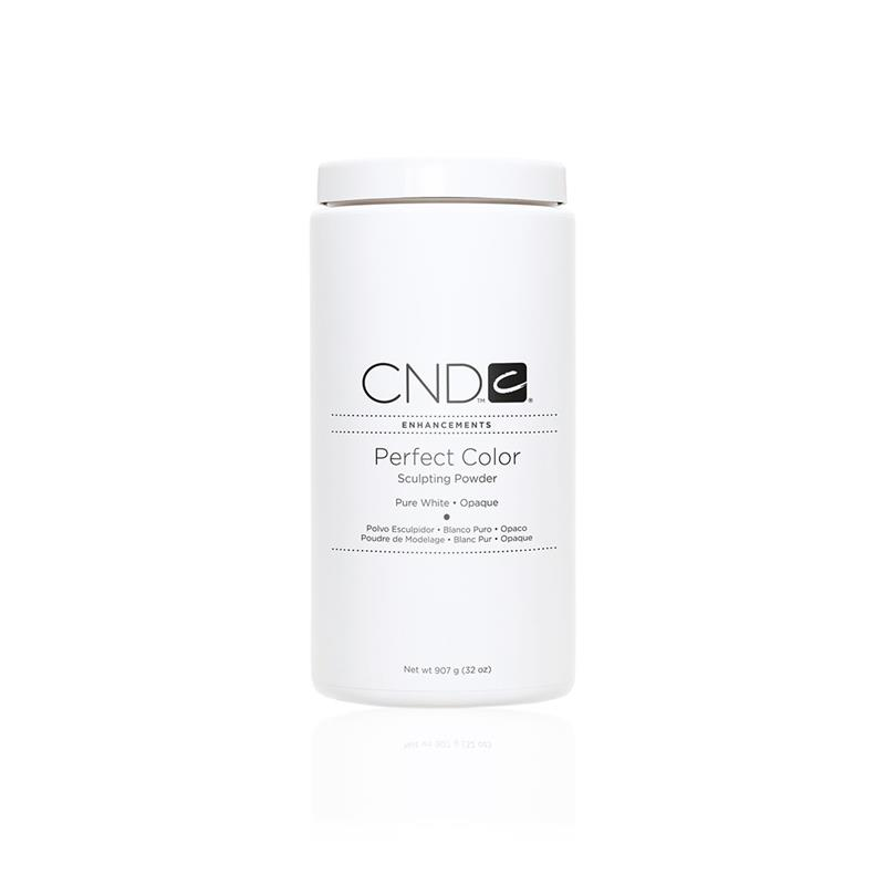 CND™ PERFECT COLOR POWDER Pure White Opaque 907g