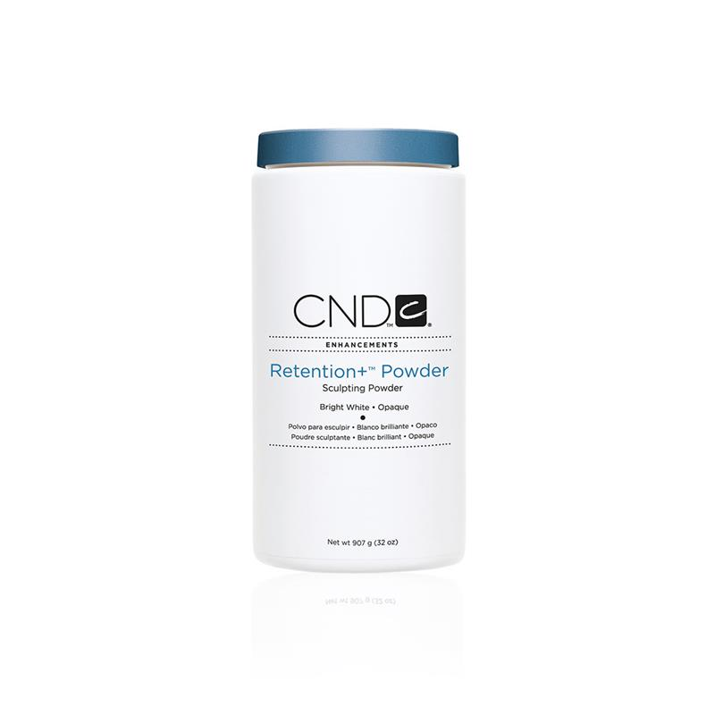 CND™ RETENTION+™ SCULPTING POWDER Bright White Opaque 907G