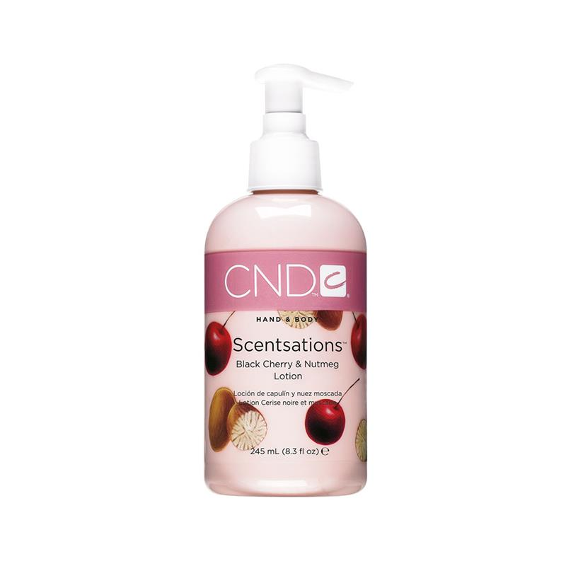 CND™ SCENTSATIONS LOTION BLACK CHERRY & NUTMEG 245ml