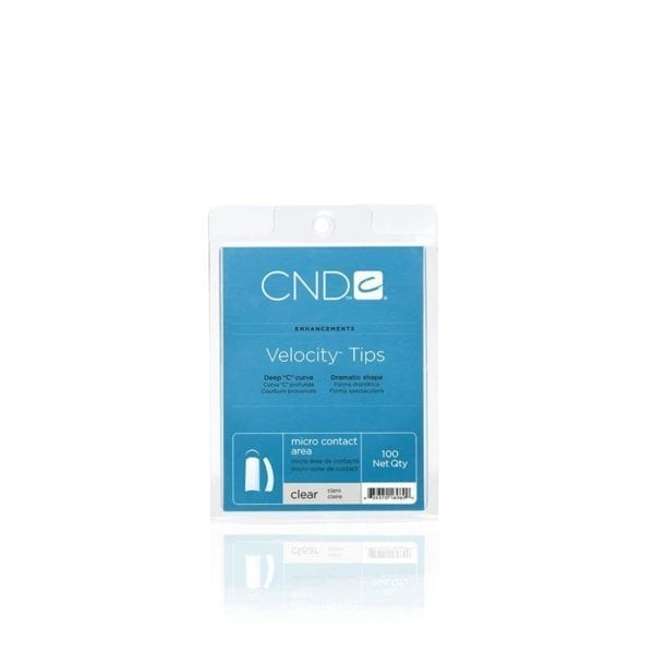 CND™ VELOCITY™ TIPS CLEAR 100 Tray