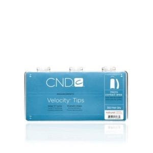 CND™ VELOCITY™ TIPS NATURAL 360 Tray
