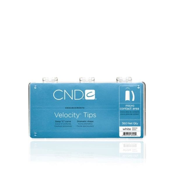 CND™ VELOCITY™ TIPS WHITE 360 Tray